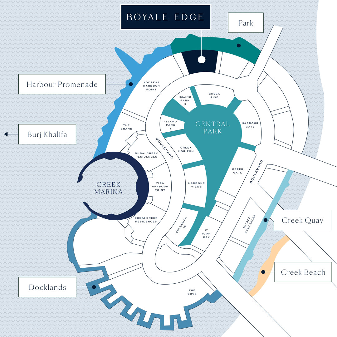 Royale-Edge Location Map