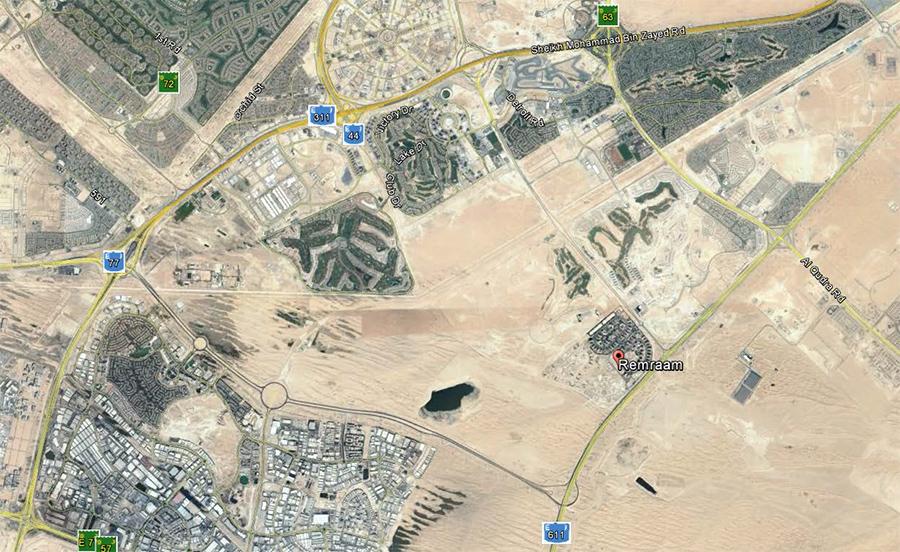 Remraam Apartments -  Location Plan