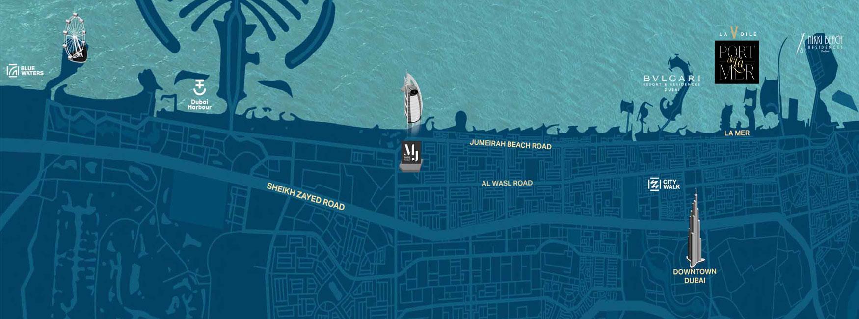 La Voile Building 3 -  Location Plan