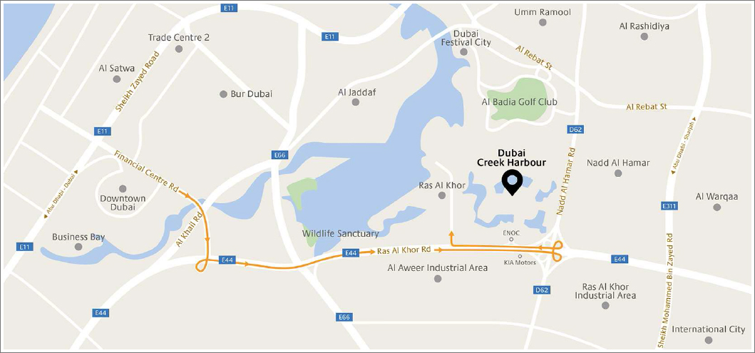Harbour-Gate-Apartments Location Map