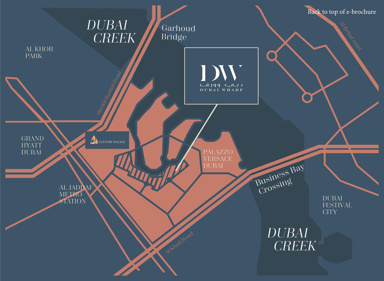 Dubai Wharf -  Location Plan