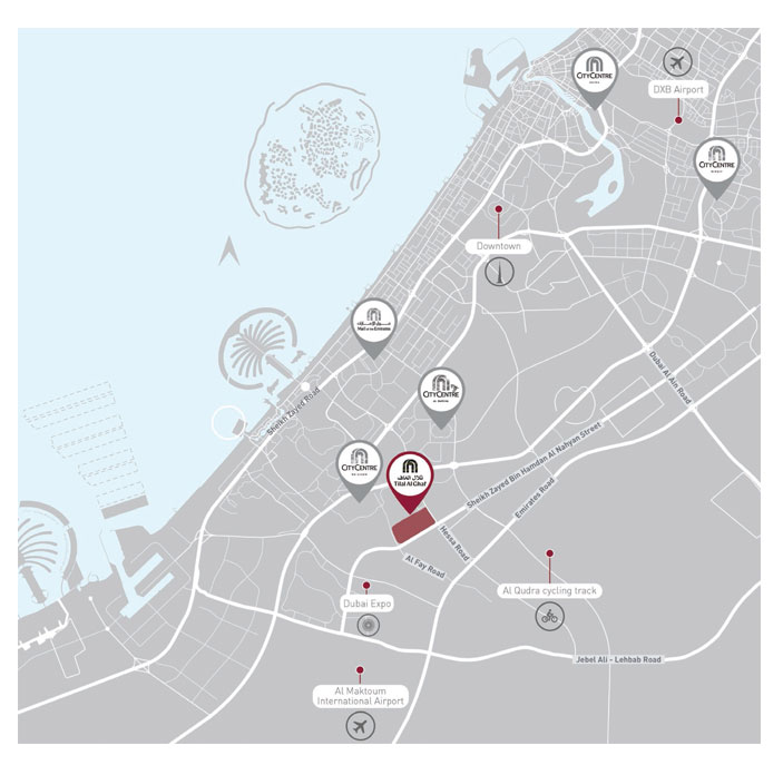 Elan Townhouses Phase 3 -  Location Plan