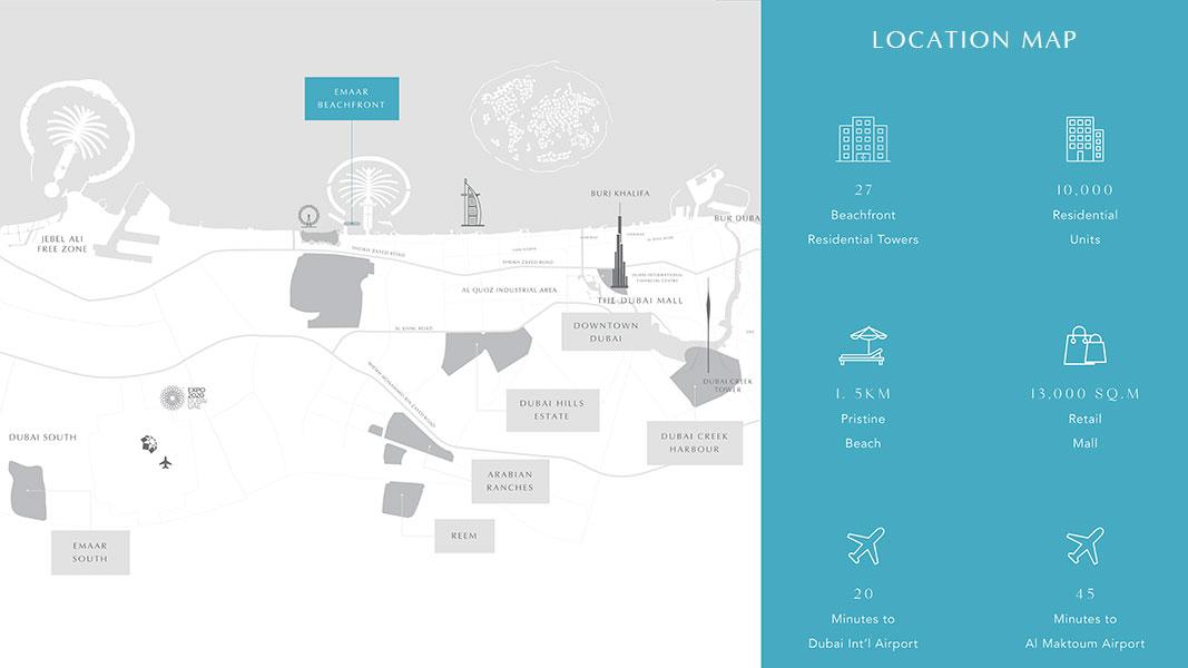 Marina Vista Villas -  Location Plan