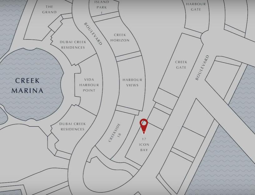 17-ICON-BAY Location Map