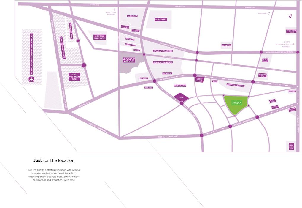Just-Cavalli-Villas Location Map