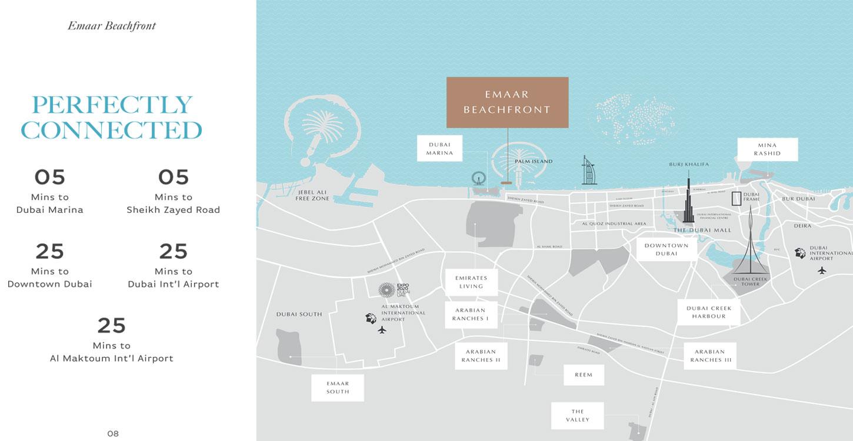 Beach Isle Tower 2 -  Location Plan
