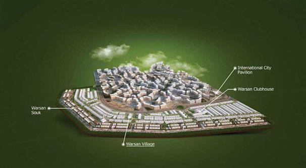 Warsan Village Dubai -  Location Plan