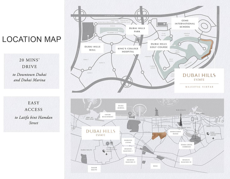 Lamborghini Mansions -  Location Plan