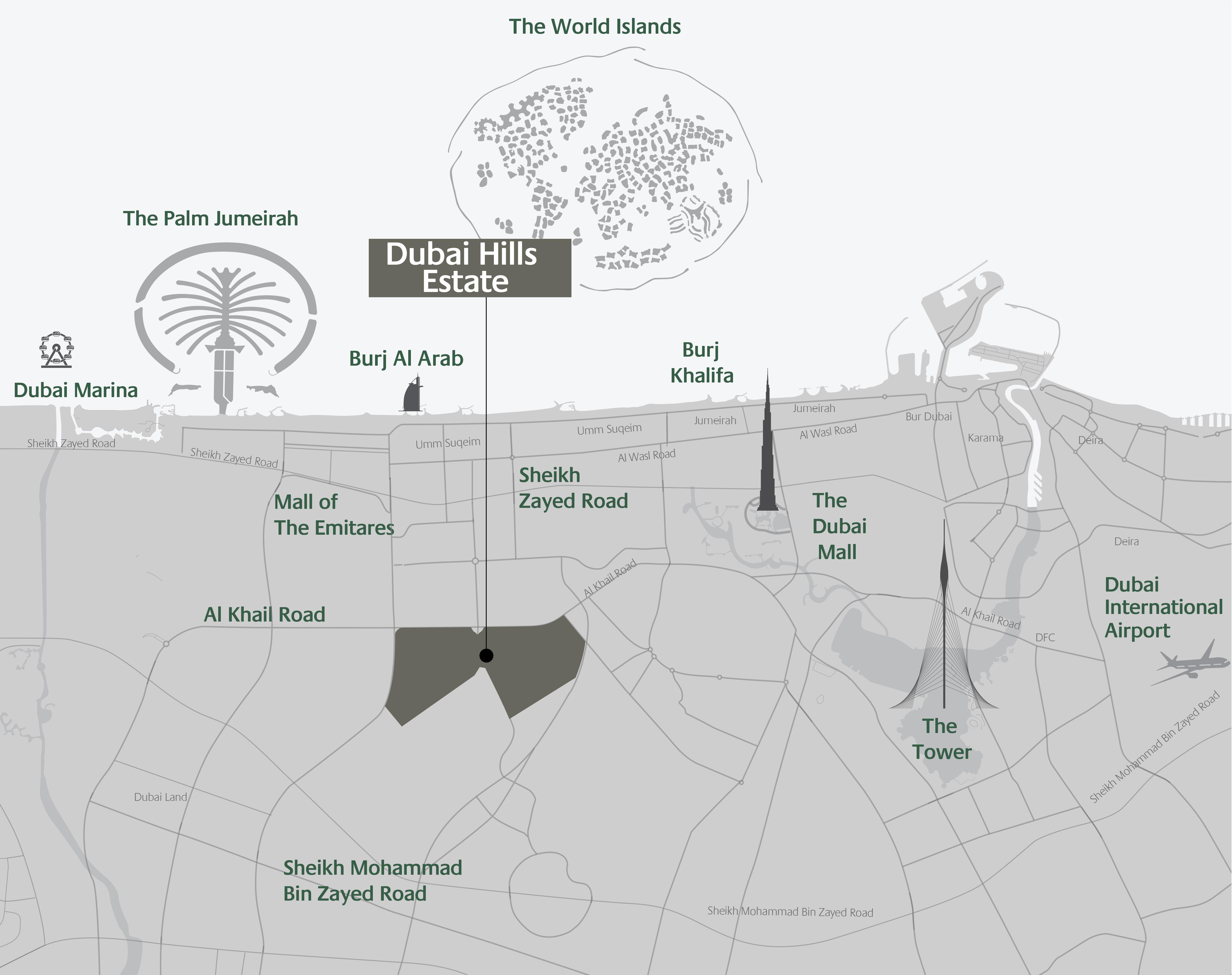 Park-Ridge Location Map