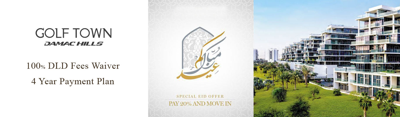 Exclusive Eid Offer Golf Town Apartments by Damac
