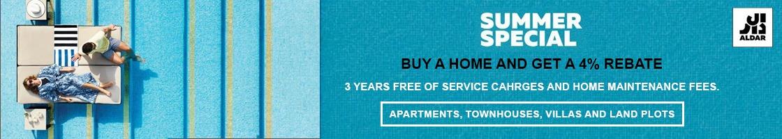 Summer Special - Aldar Properties