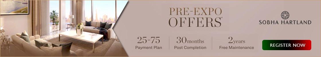 Sobha Hartland Pre-Expo Offers
