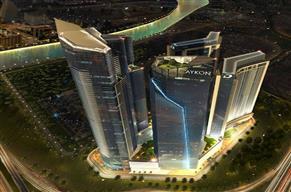 Burj views Studio in Tower B Aykon City