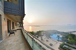 Amazing sunset views I Huge 3 Bed I RIXOS PALM