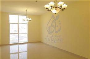 2 bedroom for rent in 12 cheques 0% commission a new building in Al Raffa