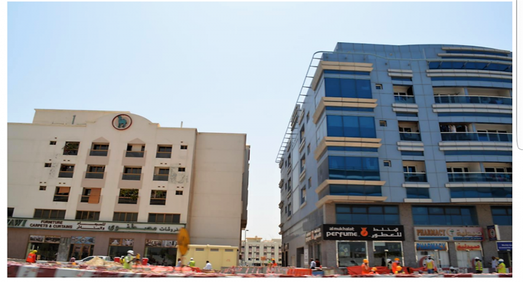 Office Space next to ADCB Metro Station