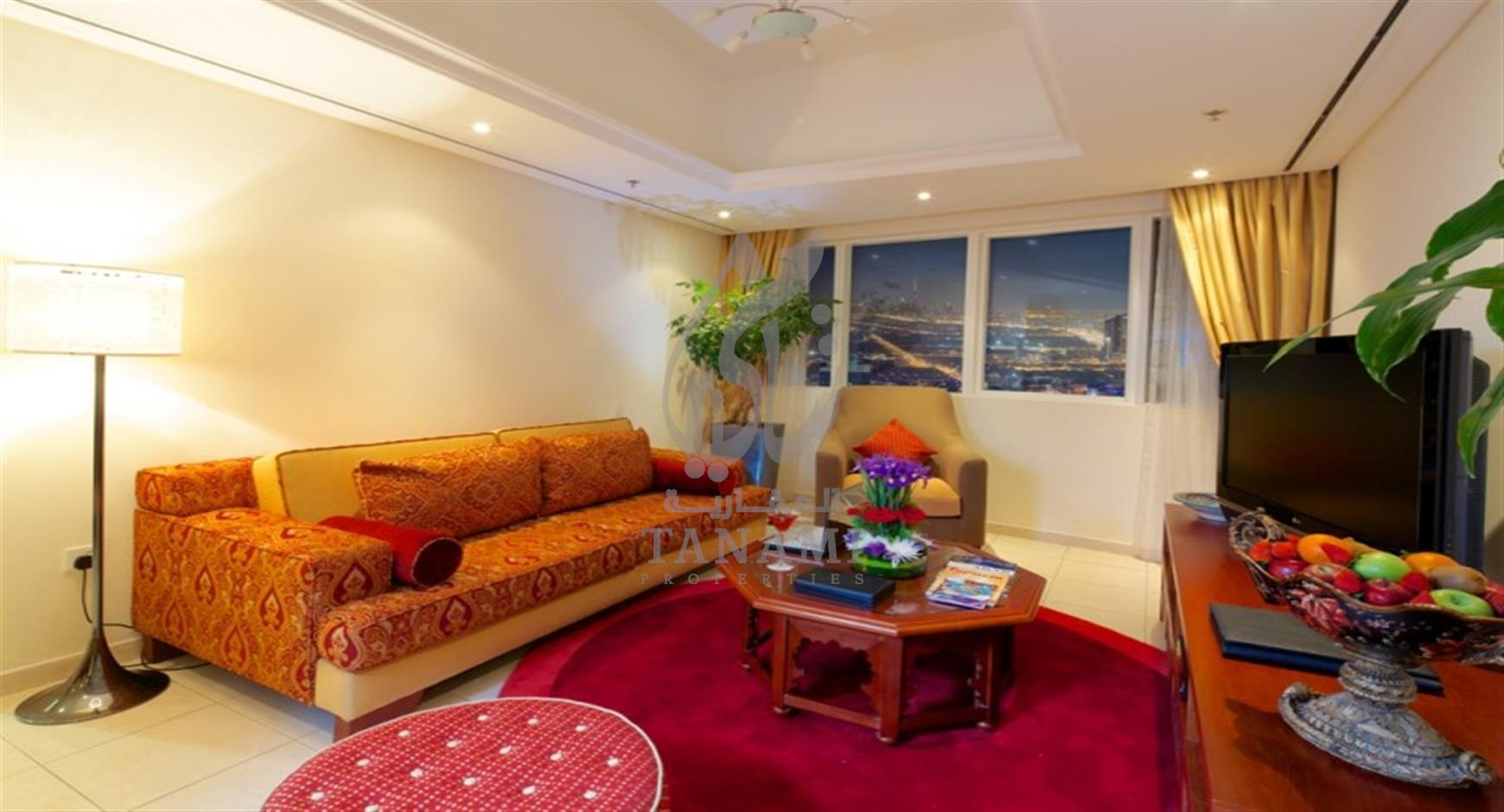 3 Bedroom Furnished Hotel Apartment