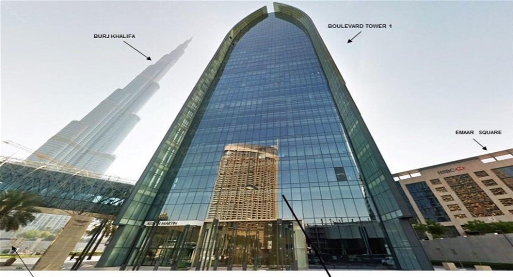Spectacular Office Space in Downtown Dubai - Furni...