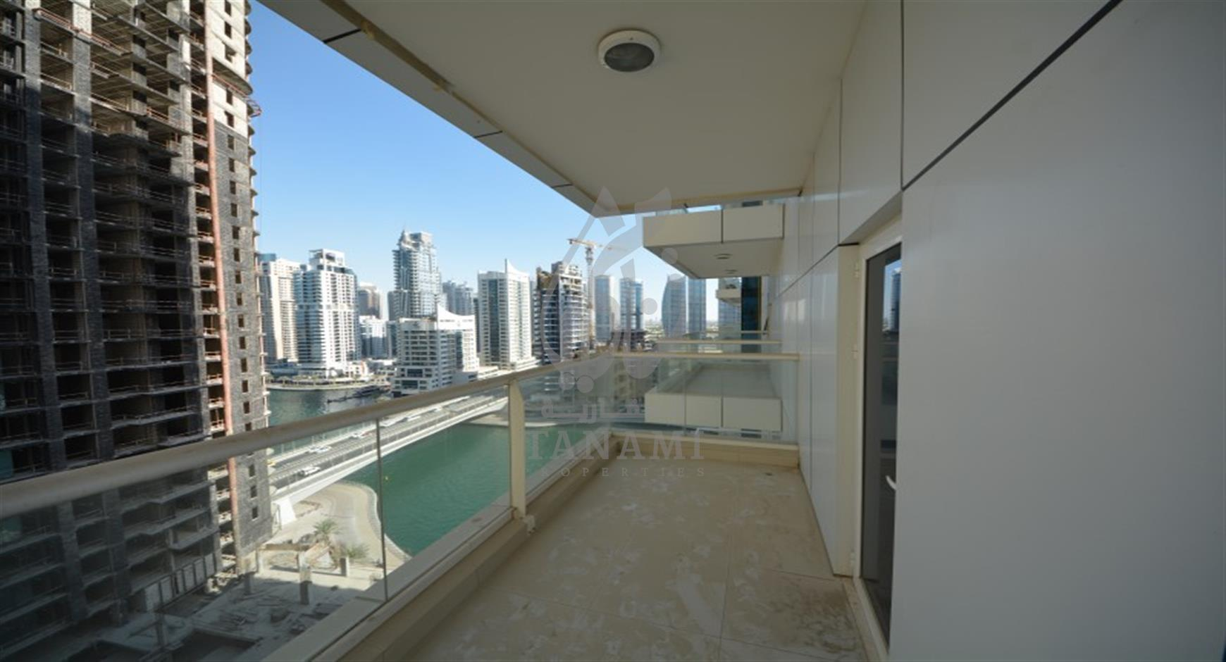 2 Bed apartment Partial Marina View