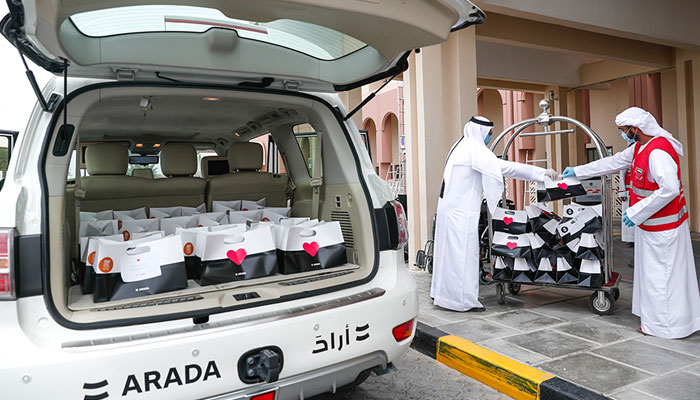 Arada takes next level initiative to support Sharjah Community in the fight against the Coronavirus outbreak